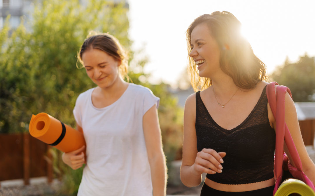 Bridging Friends and Fitness
